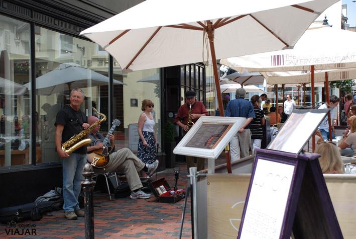 Jazz en East Street. Brighton