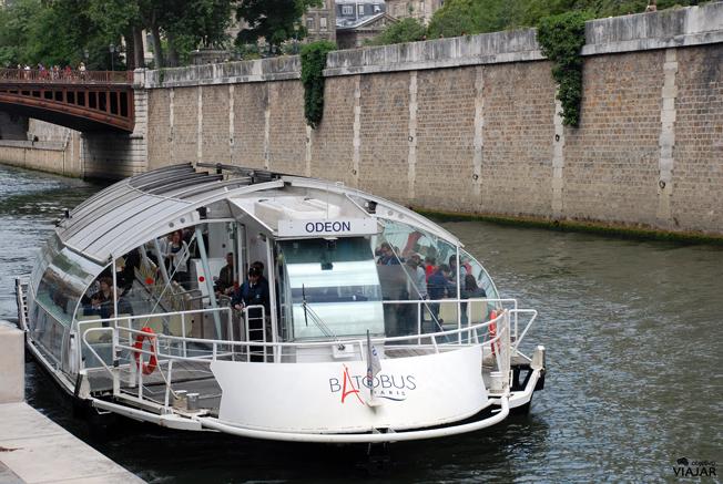 Batobús. París