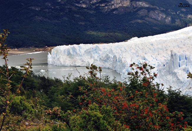 El Glaciar Perito Moreno. Argentina