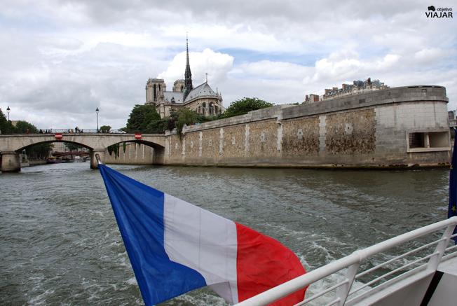 Notre-Dame desde el batobus. París