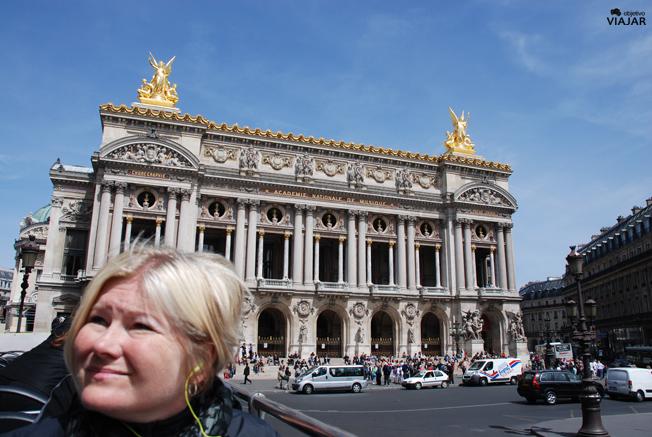 Opera Nacional de París Palais Garnier