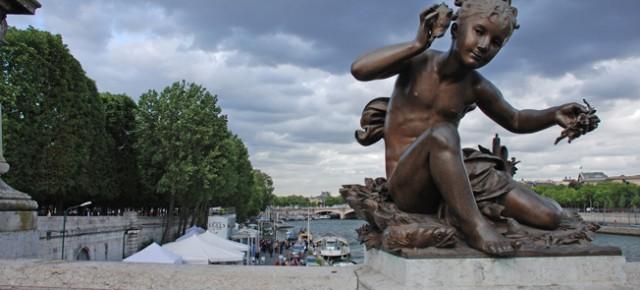 París con padres (en este caso los míos)