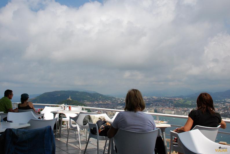 Cafetería en el Monte Igueldo. San Sebastián