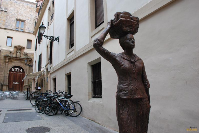 Homenaje a la población civil tras el incendio de 1813. San Sebastián