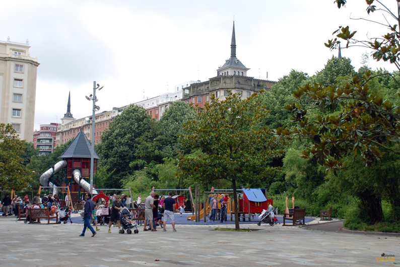Parque de Araba. San Sebastián