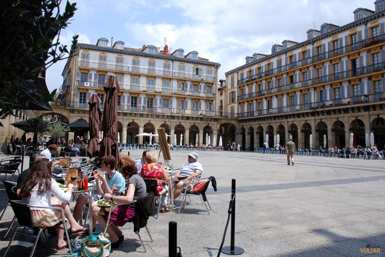 Plaza de la Constitución. San Sebastián