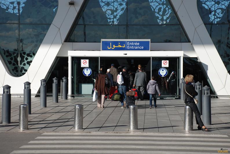Aeropuerto de Marrakech Menara. Viajar a Marrakech