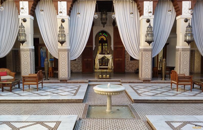 Hotel Royal Mansour. Marrakech