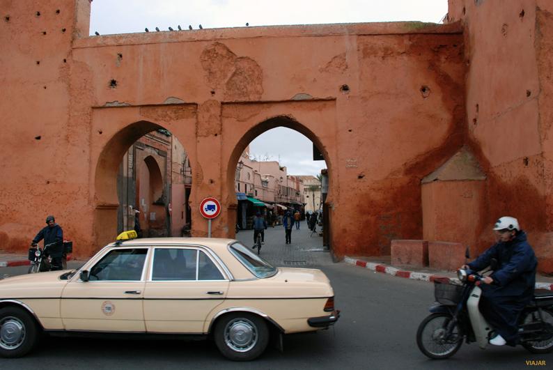 Petit taxi en Marrakech