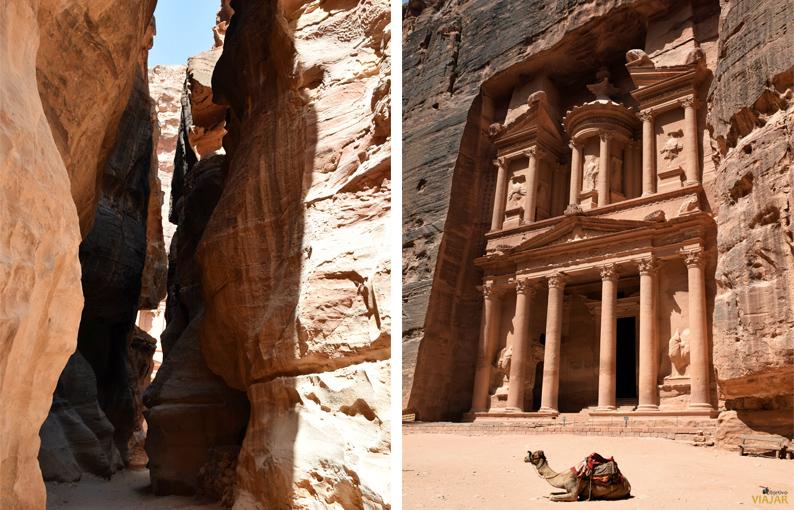 El Tesoro. Petra. Jordania