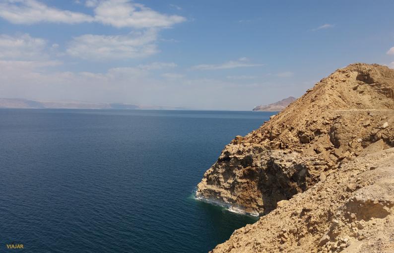Panorámica del Mar Muerto. Jordania