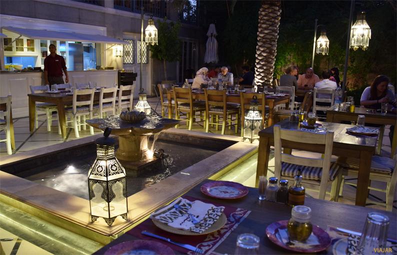 Sufra Restaurant. Amán. Jordania