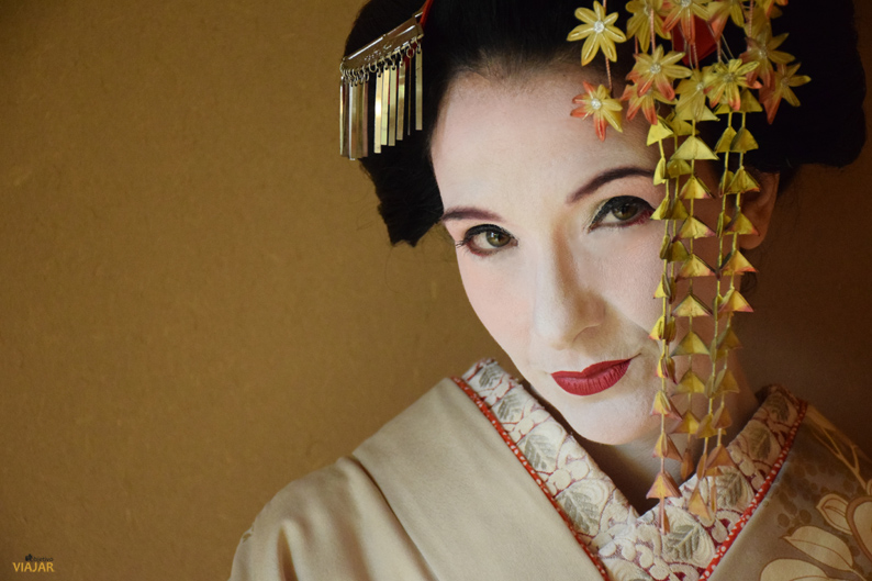 Mi momento maiko en Kioto. Japón