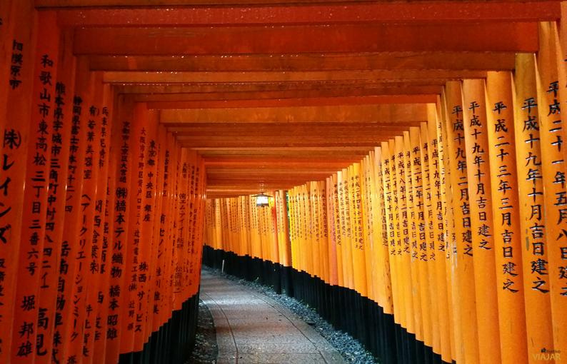 Santuario Fushimi Inari, Japón