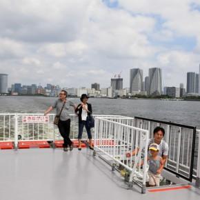 Un paseo en barco por el río Sumida, Tokio