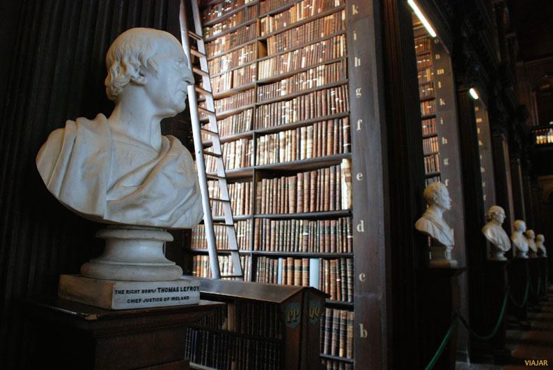 Busto de Thomas Lefroy. Biblioteca del Trinity College. Dublin