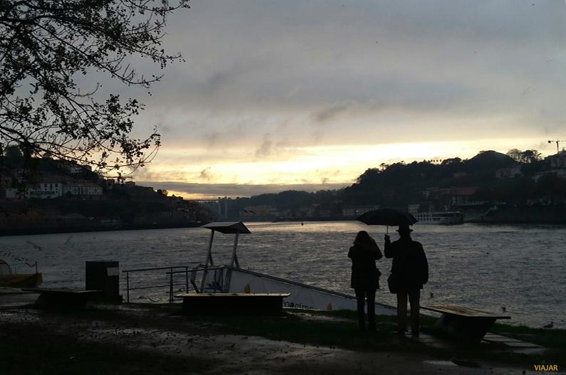 Atardecer en Vila Nova de Gaia