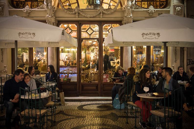 Café Majestic. Oporto