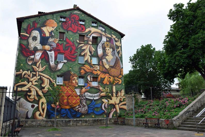 El triunfo de Vitoria. Murales de Vitoria-Gasteiz