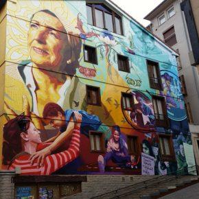 Ruta de los murales de Vitoria-Gasteiz, un paseo por la ciudad pintada