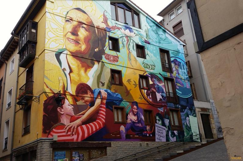 La luz de la Esperanza. Murales de Vitoria-Gasteiz