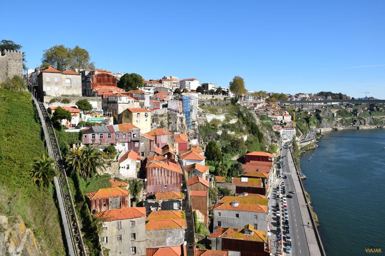 Oporto desde el nivel superior del Puente Don Luis I