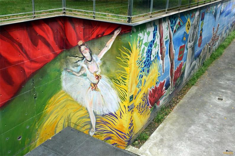 Somos Agua, somos arte. Murales de Vitoria-Gasteiz