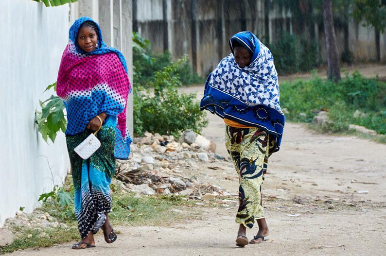 Chicas en Zanzíbar