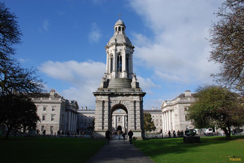 Trinity College, Dublín. Irlanda