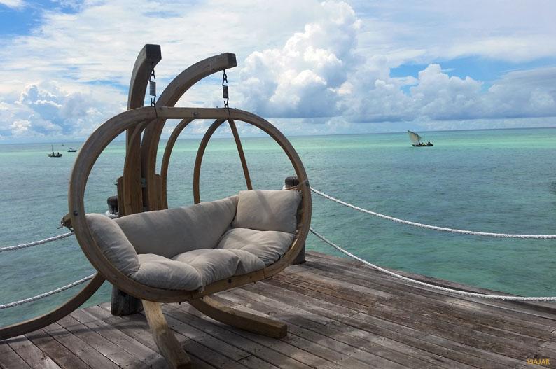 The Jetty. Hotel Essque Zalu Zanzibar