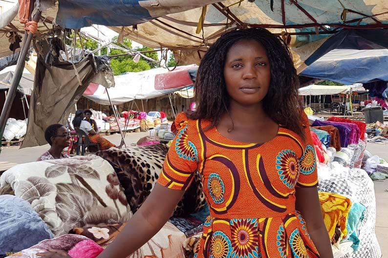 Mercado de Livingstone. Zambia