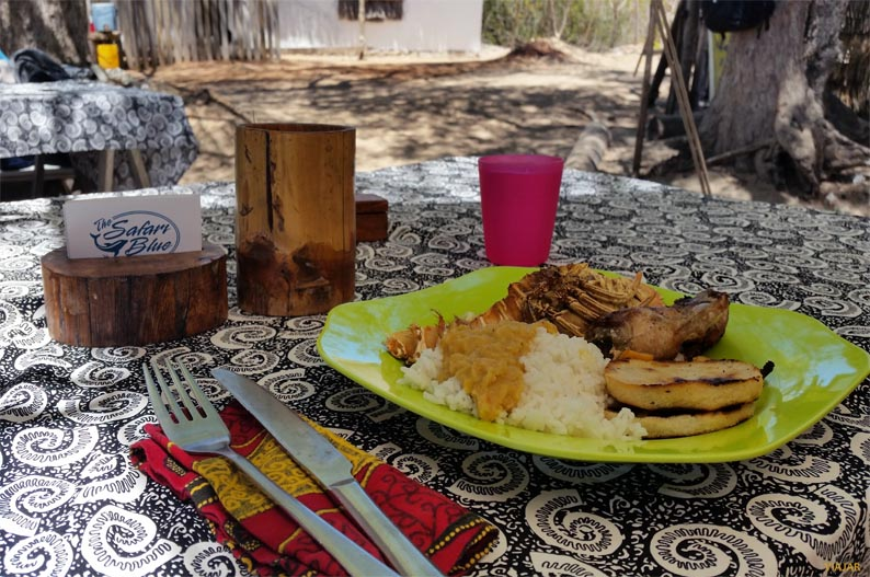 Barbacoa. Safari Blue