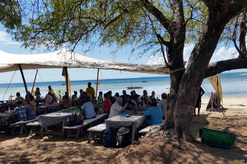 Isla de Kwale. Safari Blue