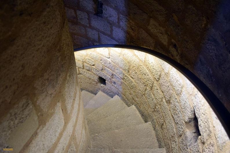 Escalera de caracol. Terrazas de Santa Maria del Mar