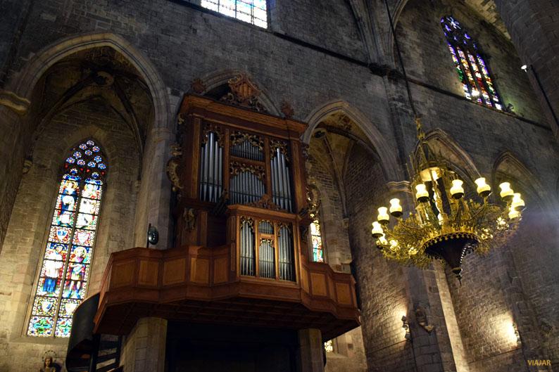 Organo de Santa Maria del Mar
