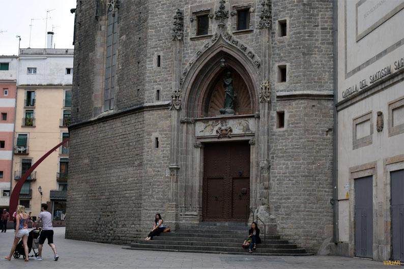 Portal del Born. Santa Maria del Mar. Barcelona