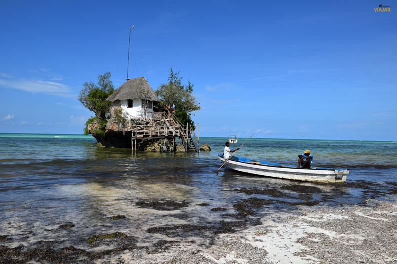 The Rock. Zanzibar