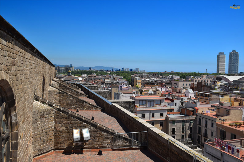 Terrazas de Santa Maria del Mar. Barcelona