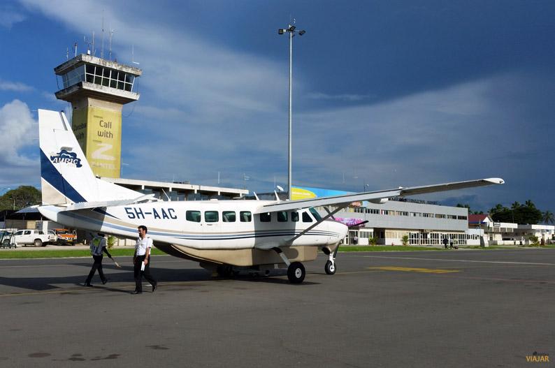 Vuelo con Auric Air. Viajar a Zanzibar