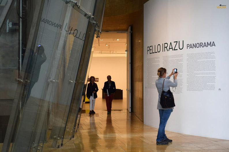 Exposicion. Museo Guggenheim de Bilbao