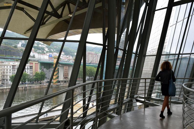 Puente de La Salve desde el Museo Guggenheim de Bilbao