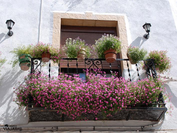 Detalle balcon de Torres. Sierra Magina
