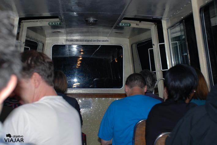 Atravesando el Maida Hill Tunnel. Regent's Canal