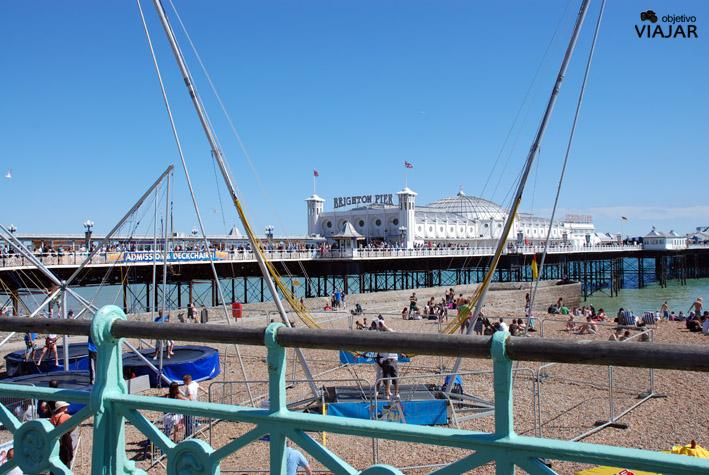 Brighton Pier, una de las joyas de Brighton