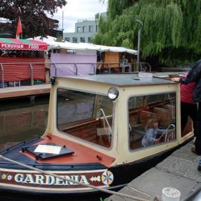 Un paseo en barco por el Regent's Canal