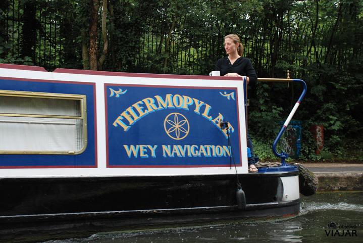 Barcos en el Regent's Canal
