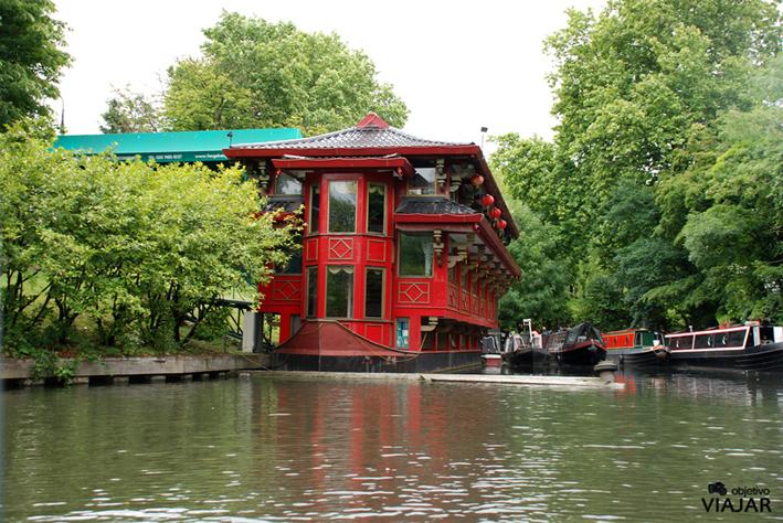 The Feng Shang Princess. Cumberland Basin. Regent's Canal