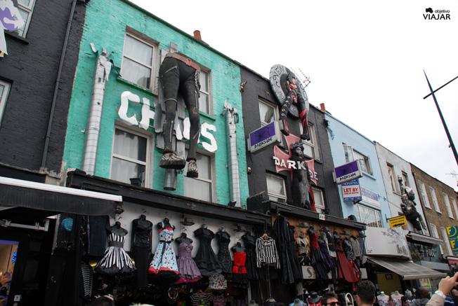 Camden High Street. Camden Town. Londres