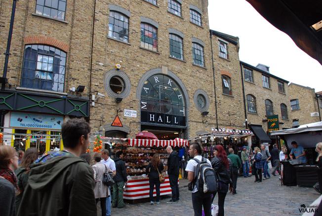 Camden Lock Place, Camden Town. Londres