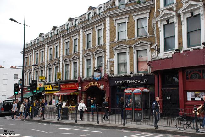 Camden Road.  Camden Town. Londres